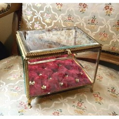 Fransk Grande Smykkeskrin Bijoux [H14x17,5x18cm]