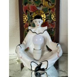 Vintage Pjerrotlampe [30cm] Hvid