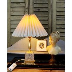 Fransk Lampe med Krystalglas [24cm] På Fødder
