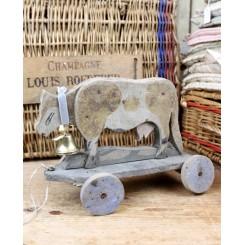 KO på hjul - Træ legetøj [Antik]