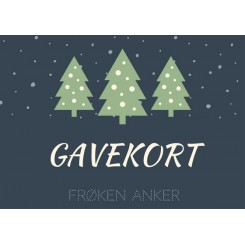 GAVEKORT 50 DKK