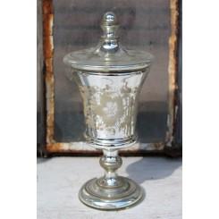 Antik Pokal [H24,5cm] Fattigmandssølv