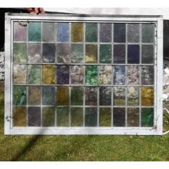 Vintage Blyindfattede vinduer [88x66cm]