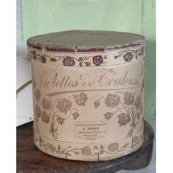 Gammel Æske [H14xØ15cm] Violettes de Toulouse