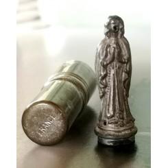 Lommealter Lommefigur m. Cylinder Etui BEDENDE MADONNA
