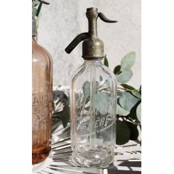 Fransk sifonflaske KLAR [H27cm] SAMLEROBJEKT