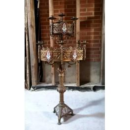 Fransk Kirkestage Kandelaber [H129cm]