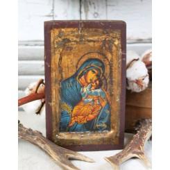 Gammel Russisk Ikon [H17,5cm] Icon