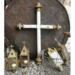ANTIK Fransk Lanterne [H23x8x8cm] Pr. stk