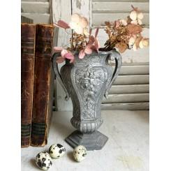 Dekorativ Art Nouveau Fransk Vase [H18,5cm] Jernvase