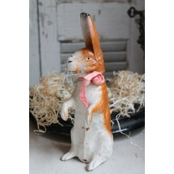 Gl. Hare Papmaché [container] 23 cm
