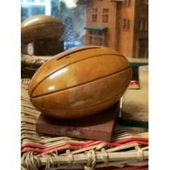 Vintage Træ Sparebøsse [Football]