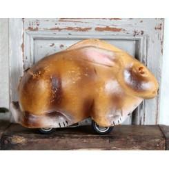 Antik Hare med optræk (papmaché)