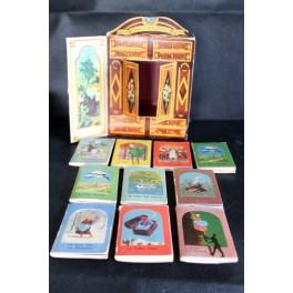 Gammel Box med H.C.Andersen's eventyr - 10 minibøger