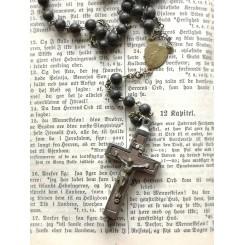 Gl. Rosenkrans Kors med Relikvie [59 perler] ROMA