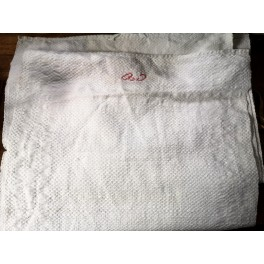 Franskt Håndklæde Viskestykke m. Monogram [42x118cm]