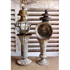 Antik Hestevogns Lanterne [H49cm]