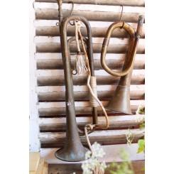 Gl. Trompet Blæseinstrument [49,5cm] Paris