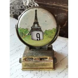 Gammel Kalender PARIS