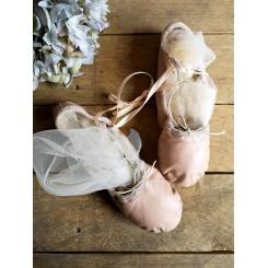 Balletsko Børneballetsko DEKO (NUDE SKIND)
