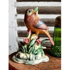 Gl. Porcelænsfigur Fugl [16cm]