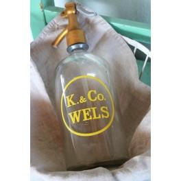Sifonflaske K. & Co. Wels