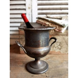GL. Vinkøler Champagnekøler POKAL [H27cm] Silverplated
