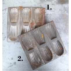 Bageform Madeleine 6-huller