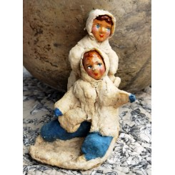 Presset Vat figur [10x10x6,5cm]Legende Børn