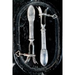 Gl. Fransk Andelårstang [21,5 cm] Pr. stk