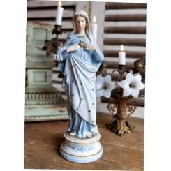 Madonna MARIA HJERTE [H40cm] Porcelæn