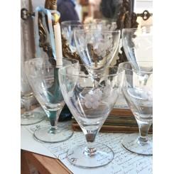 Gamle Franske Glas [H13cm] Pr. stk