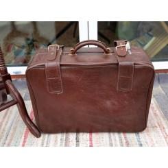 Vintage Kuffert [51x40x20cm] med Remme