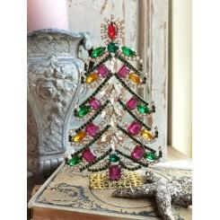 Juletræer med Rhinsten ROSET [H15cm] Bling-Bling