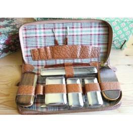 Vintage Rejsesæt Beautybox