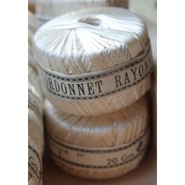 Cordonnet Rayonne, 20 gram (garnrulle) | pr. stk