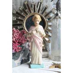 Jesusbarn Rosa [H-20,5 cm]