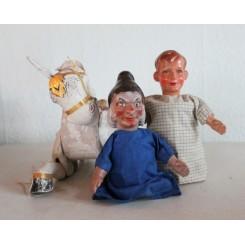Vintage Handskedukker Dukketeater |Pr. stk