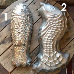 Gamle Forme Fisk |Pr stk