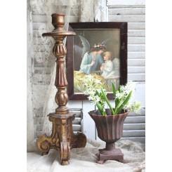 Kirkestage Antik (Malet Træ) [H-50 cm]