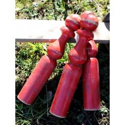 Franske Røde Kegler |Pr. stk. [28cm]