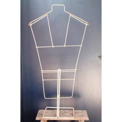 Gl. Fransk Gine Mannequin [H65-100cm]