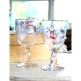 Antik Franske SOUVENIR glas [H14cm] Pr. stk