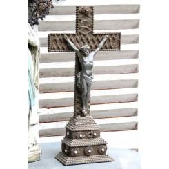 Fransk Krucifiks Karvesnit [48x25cm]