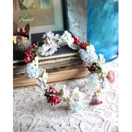 Gl. Blomsterkrans Fra Brudeglobe