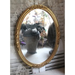 Gl Guldspejl Ovalt [43,5x33,5cm]
