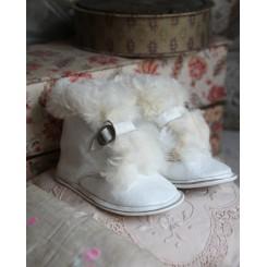 Gamle Sko/Støvler med Skind