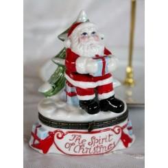 Julemand Santa. Skål med låg [V&B]