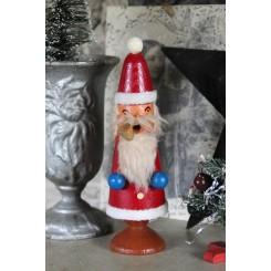Gl. Julemand Træ Erzgebirge [H18,5 cm] Røgelse