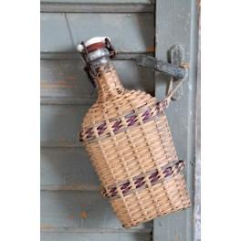 Gl Vievandsflaske LOURDES m. Patentprop
